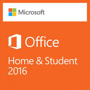 2 x Microsoft Office 2016 Home and Student Product Key
