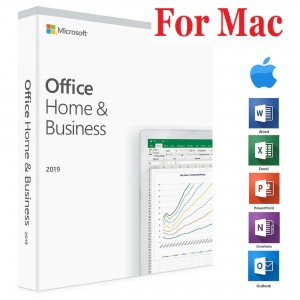 2 x MICROSOFT OFFICE 2019 HOME & BUSINESS FOR MAC LIFETIME LICENSE