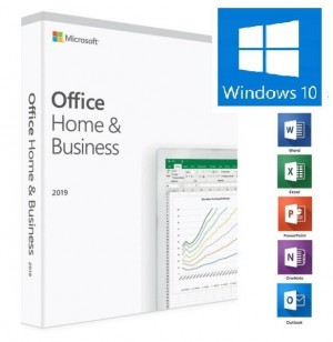 5 x MICROSOFT OFFICE 2019 HOME & BUSINESS WINDOWS GLOBAL LICENSE